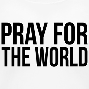 PRAY FOR THE WORLD Women's T-Shirts - Women's Maternity T-Shirt