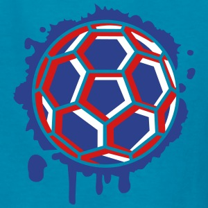 Handball Graffiti Kids' Shirts - Kids' T-Shirt