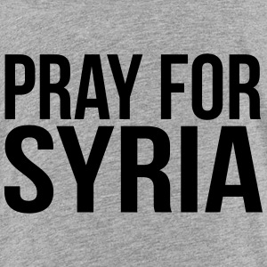 PRAY FOR SYRIA Kids' Shirts - Kids' Premium T-Shirt