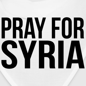 PRAY FOR SYRIA Caps - Bandana