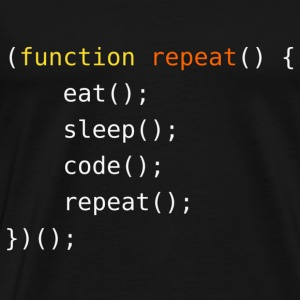 Eat, Sleep, Code, Repeat - Men's Premium T-Shirt
