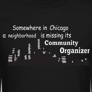 neighborhood missing community organizer - Crewneck Sweatshirt