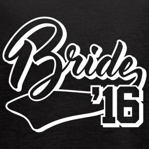 bride 2016 Tanks - Women's Flowy Tank Top by Bella