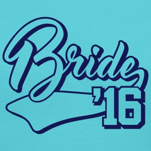 bride 2016 Women's T-Shirts - Women's V-Neck T-Shirt