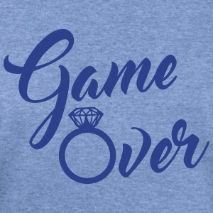 game over Long Sleeve Shirts - Women's Wideneck Sweatshirt