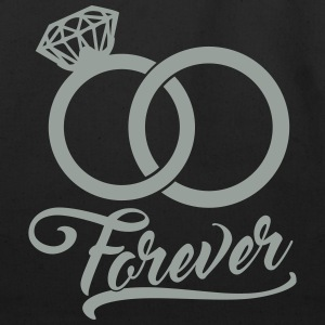 forever wedding rings Bags & backpacks - Eco-Friendly Cotton Tote