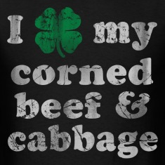 I Shamrock my corned beer and cabbage T-Shirts