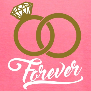 forever wedding rings Tanks - Women's Flowy Tank Top by Bella