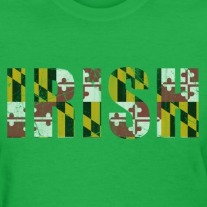 Irish Flag of Maryland Women's T-Shirts - Women's T-Shirt