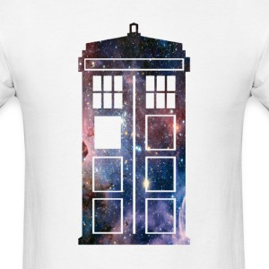 tardis - Men's T-Shirt