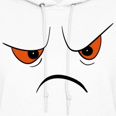Angry Face Hoodies