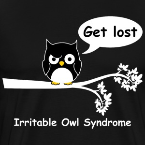 Irritable owl syndrome 4 T-Shirts - Men's Premium T-Shirt