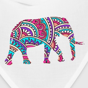 Colorful elephant Caps - Bandana