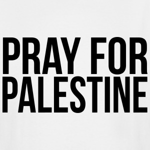 PRAY FOR PALESTINE T-Shirts - Men's Tall T-Shirt
