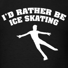 I'd Rather Be Playing Ice Skating