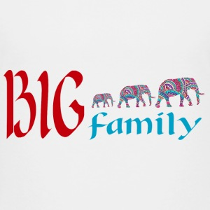 Elephants family Kids' Shirts - Kids' Premium T-Shirt
