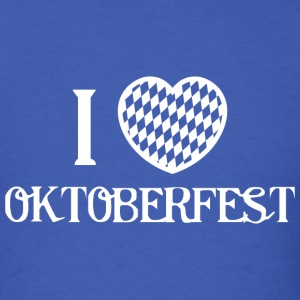I Love Oktoberfest - Men's T-Shirt