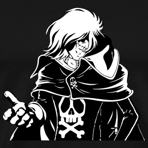 Captain Harlock - Men's Premium T-Shirt