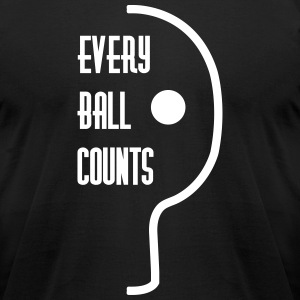 table tennis: every ball counts T-Shirts - Men's T-Shirt by American Apparel