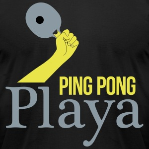 ping pong player T-Shirts - Men's T-Shirt by American Apparel