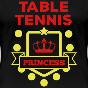 table tennis princess Women's T-Shirts - Women's Premium T-Shirt