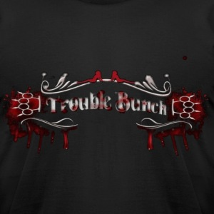 Trouble Bunch - Men's T-Shirt by American Apparel