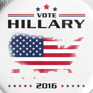 Vote for Hillary Buttons - Small Buttons