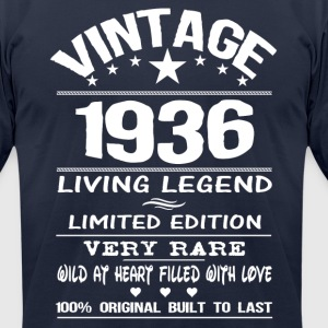 VINTAGE 1936 T-Shirts - Men's T-Shirt by American Apparel