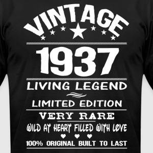 VINTAGE 1937 T-Shirts - Men's T-Shirt by American Apparel