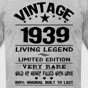 VINTAGE 1939 T-Shirts - Men's T-Shirt by American Apparel