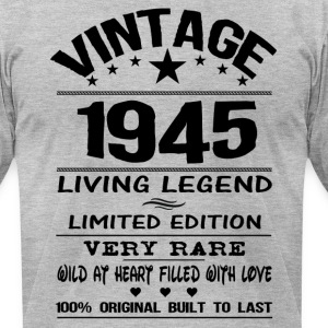 VINTAGE 1945 T-Shirts - Men's T-Shirt by American Apparel