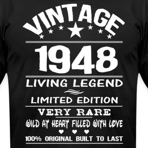 VINTAGE 1948 T-Shirts - Men's T-Shirt by American Apparel