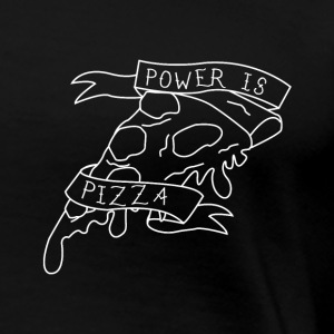 Power is Pizza - Women's Premium T-Shirt