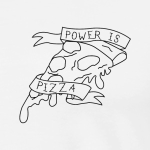 Power is Pizza - Men's Premium T-Shirt