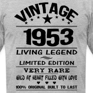 VINTAGE 1953 T-Shirts - Men's T-Shirt by American Apparel