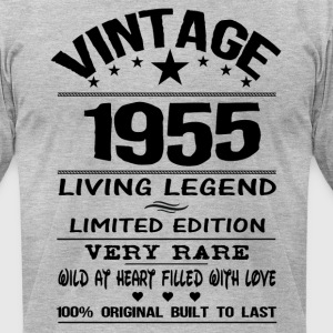 VINTAGE 1955 T-Shirts - Men's T-Shirt by American Apparel