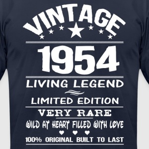VINTAGE 1954 T-Shirts - Men's T-Shirt by American Apparel