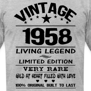 VINTAGE 1958 T-Shirts - Men's T-Shirt by American Apparel