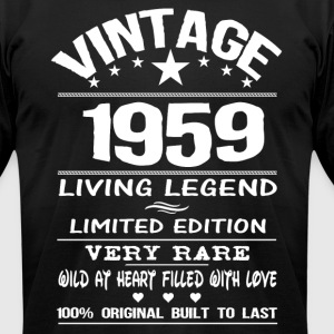 VINTAGE 1959 T-Shirts - Men's T-Shirt by American Apparel