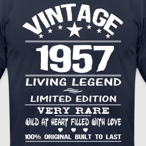 VINTAGE 1957 T-Shirts - Men's T-Shirt by American Apparel