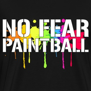 No Fear Paintball T-Shirts - Men's Premium T-Shirt