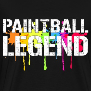 Paintball Legend T-Shirts - Men's Premium T-Shirt