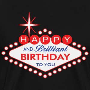 Happy Birthday - Vegas Style T-Shirts - Men's Premium T-Shirt