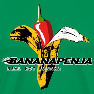 Bananapenja Black Text T-Shirts - Men's Premium T-Shirt