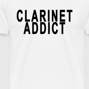 clarinet_addict - Men's Premium T-Shirt