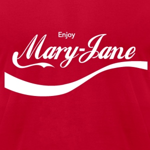 ENJOY MARY JANE - Men's T-Shirt by American Apparel