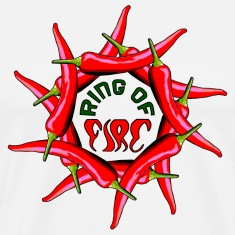 Ring Of Fire T-Shirts