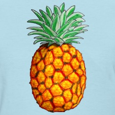 Pineapple in Color Women's T-Shirts