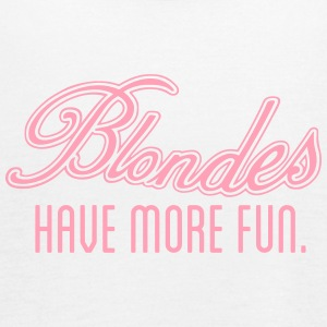 Blondes Have More Fun Tanks - Women's Flowy Tank Top by Bella