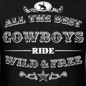 Cowboys White T-Shirts - Men's T-Shirt